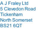 A J Fraley Ltd